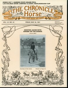 CHRONICLE OF THE HORSE COVER, MAY 30, 1997