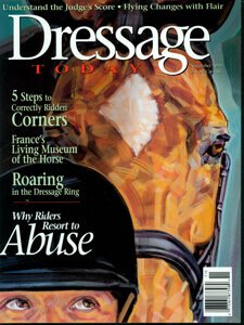 DRESSAGE TODAY COVER, NOVEMBER 1999