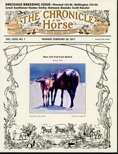 CHRONICLE OF THE HORSE COVER, FEBRUARY 28, 2011