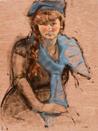 Joanne Mehl Paintings - Figure Painting