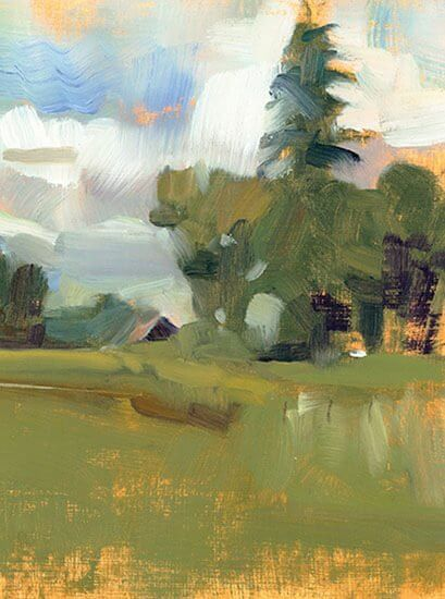 Joanne Mehl Paintings - Plein-air